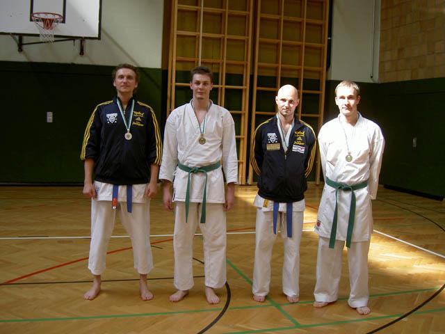 Foto: Markus Schantl mit Gold und Mattias Schantl mit Bronze